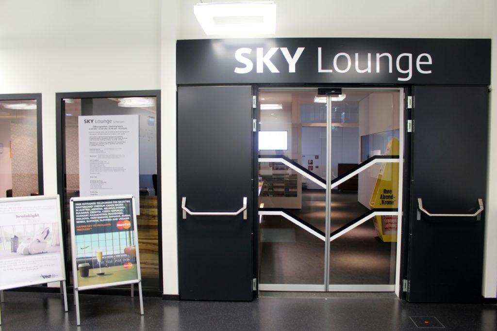 Sky Lounge, Vienna Schwechat, Schengen entrance