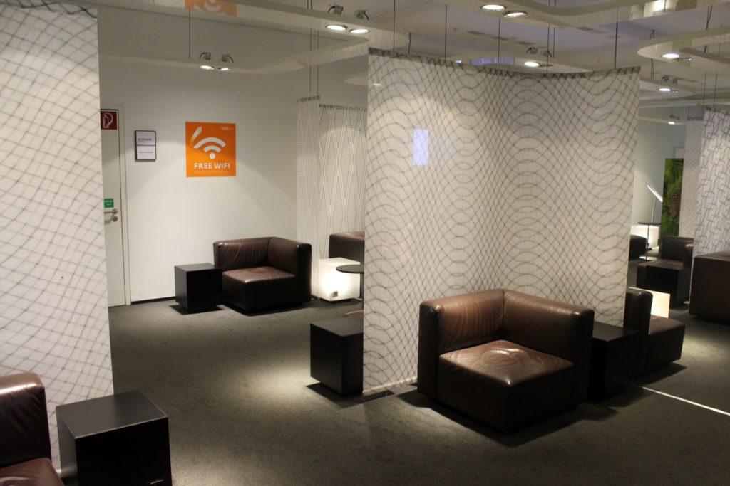 Sky Lounge, Vienna Schwechat, Schengen interior