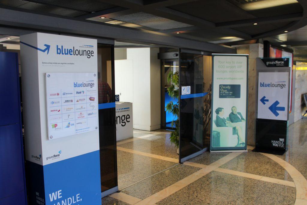 Blue Lounge, Lisbon entrancec