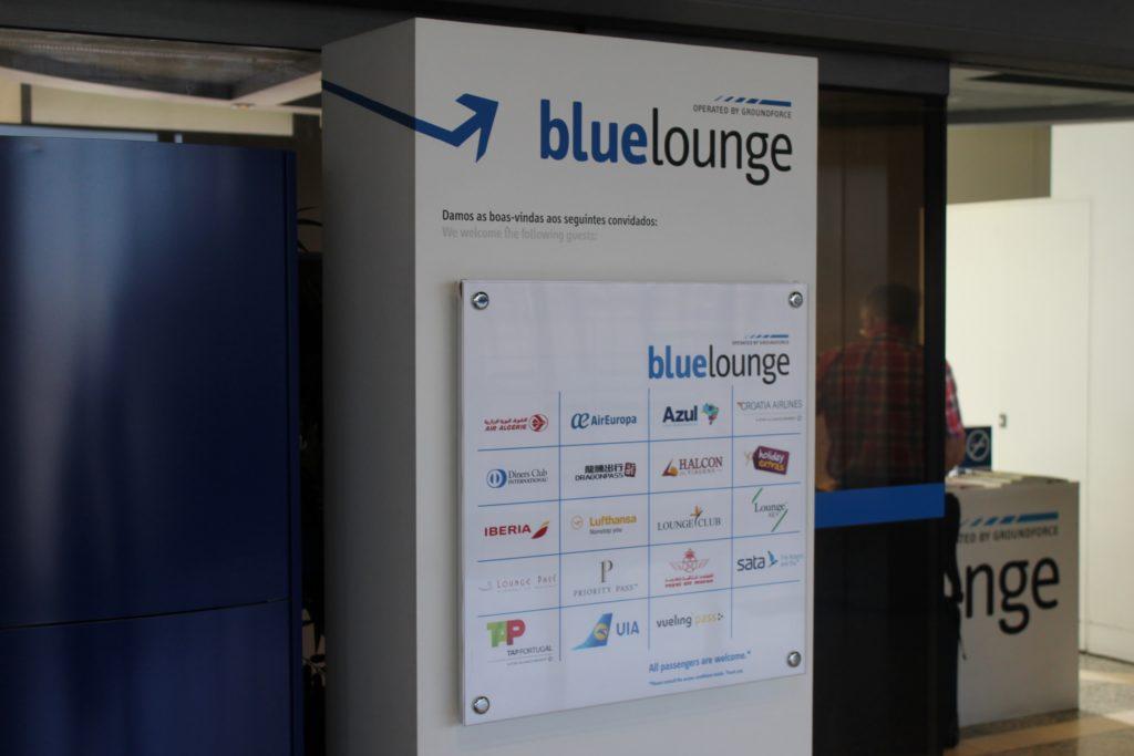 Blue Lounge, Lisbon access