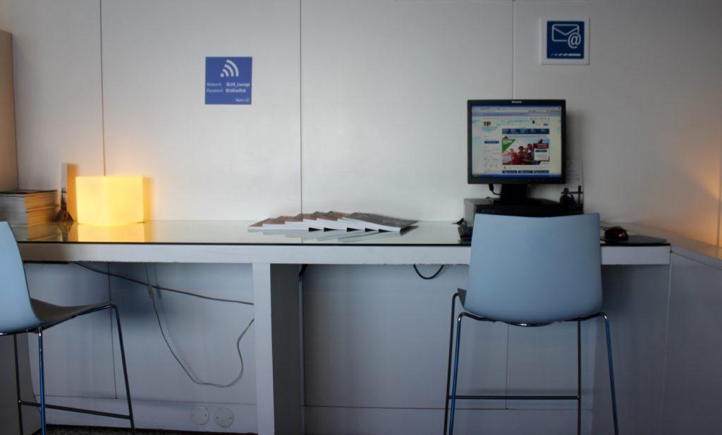 Blue Lounge, Lisbon business centre