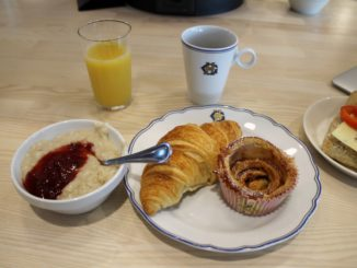 Breakfast from Grand Hotel in the SAS Gold Lounge at Stockholm Arlanda