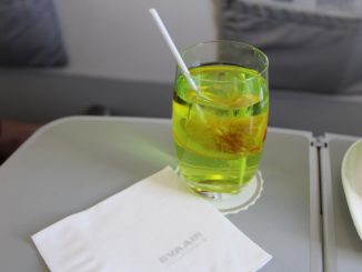 Eva Air Business Class Evergreen Special cocktail