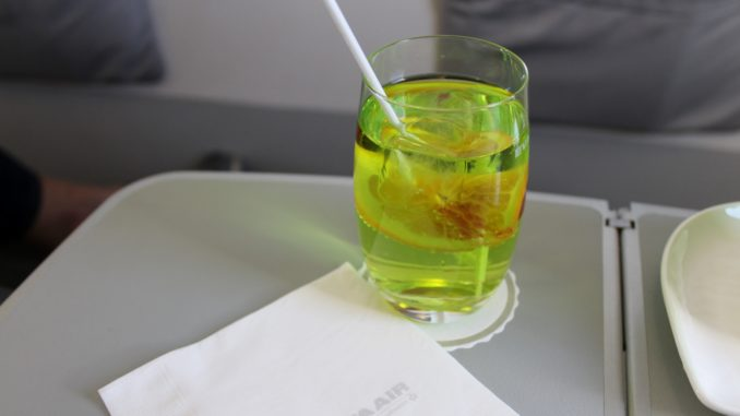 Eva Air Business Class Evergreen Special cocktail