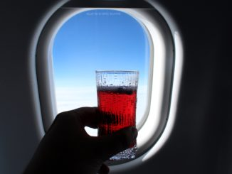 Finnair Blue Sky cocktail