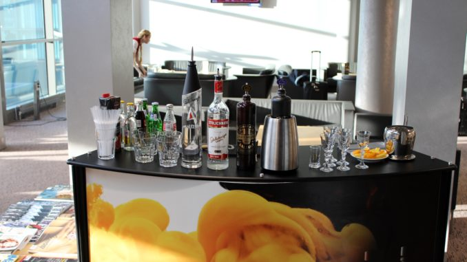 Friday fun in the Primeclass Business Lounge in Riga