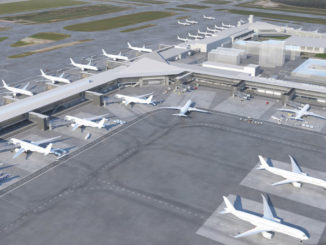 New terminal building at Helsinki Vantaa