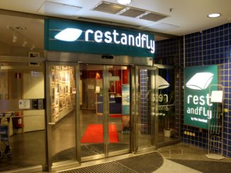 Rest and Fly by Pite Havsbad, Stockholm Arlanda entrance