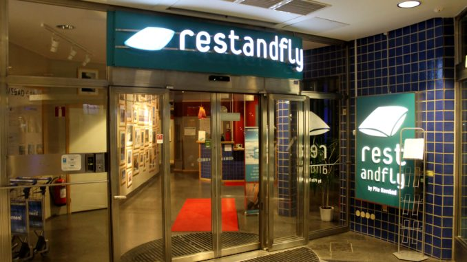 Rest and Fly by Pite Havsbad, Stockholm Arlanda entrance
