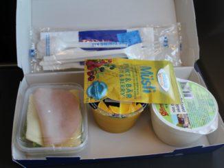 SAS breakfast box