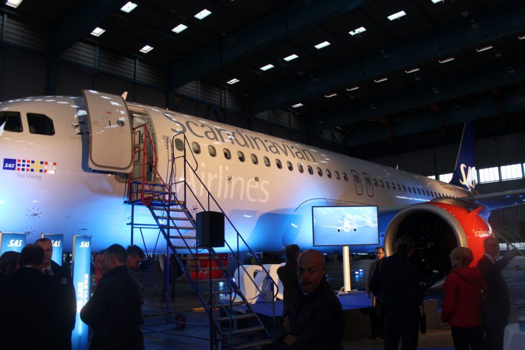 SAS inauguration Airbus A320NEO