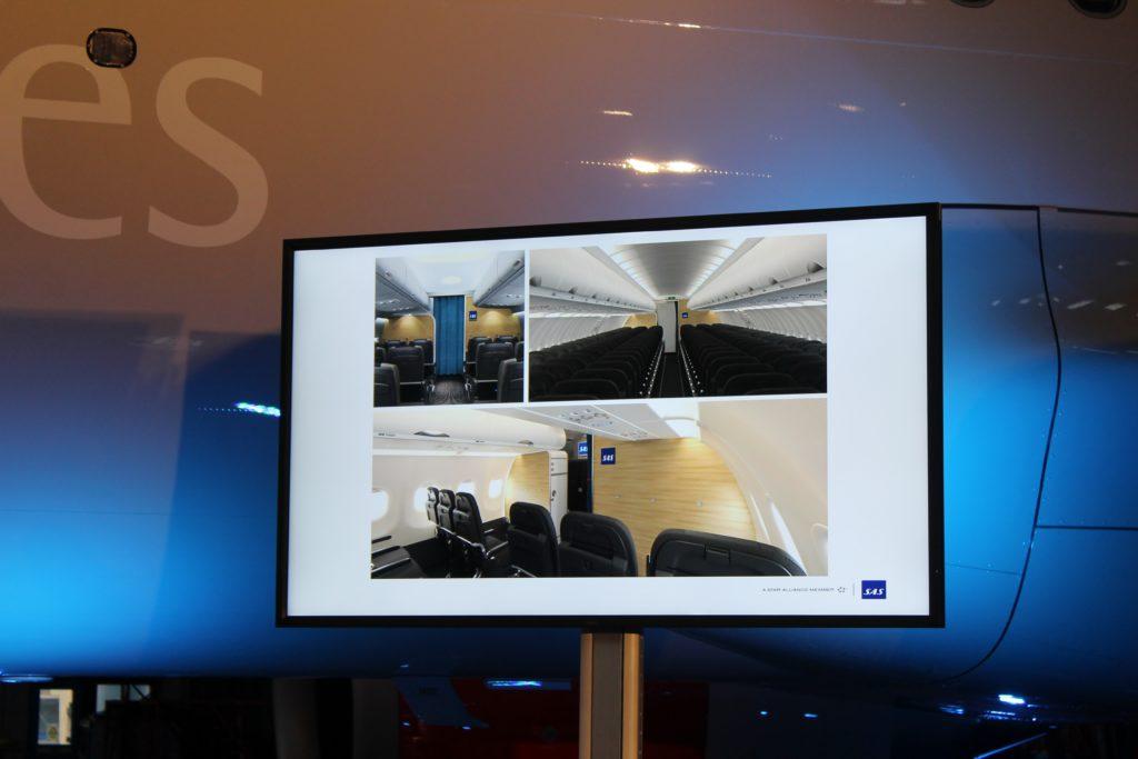 SAS new shorthaul cabin design