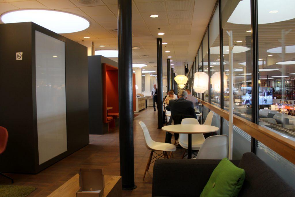 Servisair Aspire Lounge Copenhagen Kastrup interior
