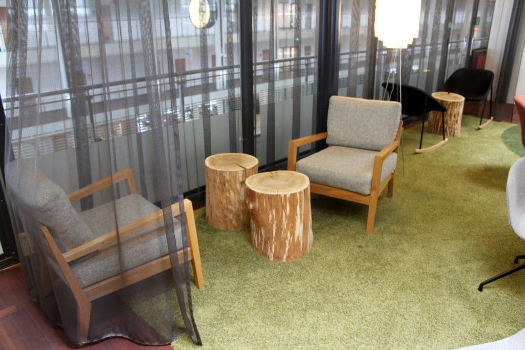 Servisair Aspire Lounge Copenhagen Kastrup seating