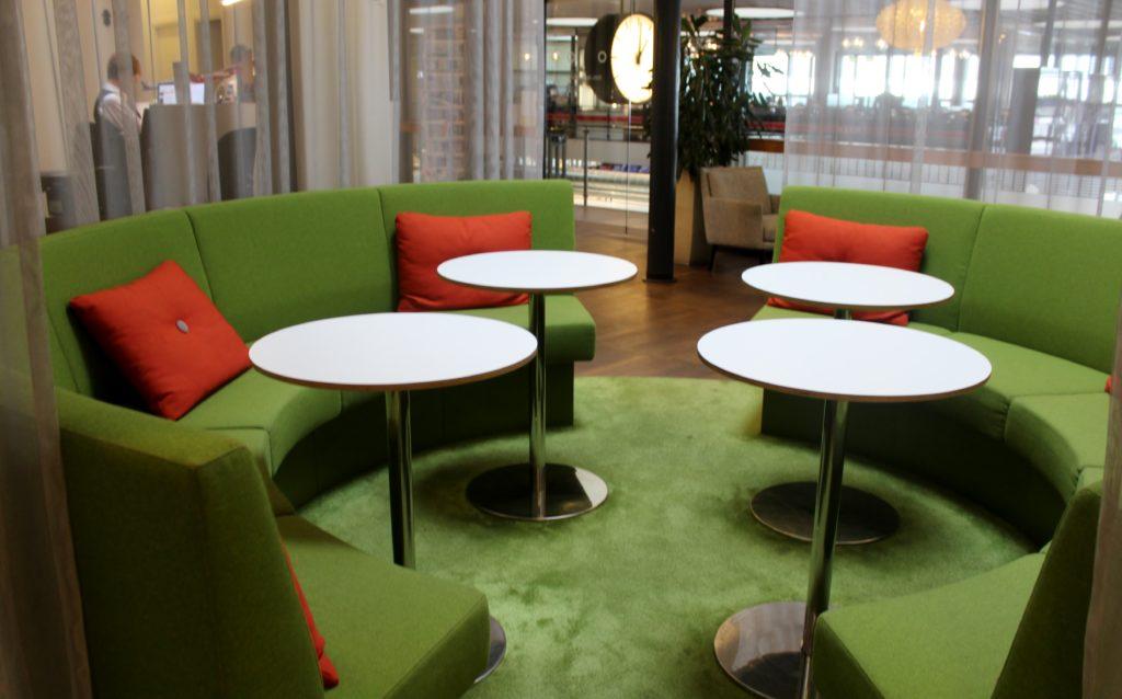 Servisair Aspire Lounge Copenhagen Kastrup sofa