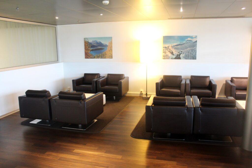 The lounge bar Swiss Business Lounge Zurich