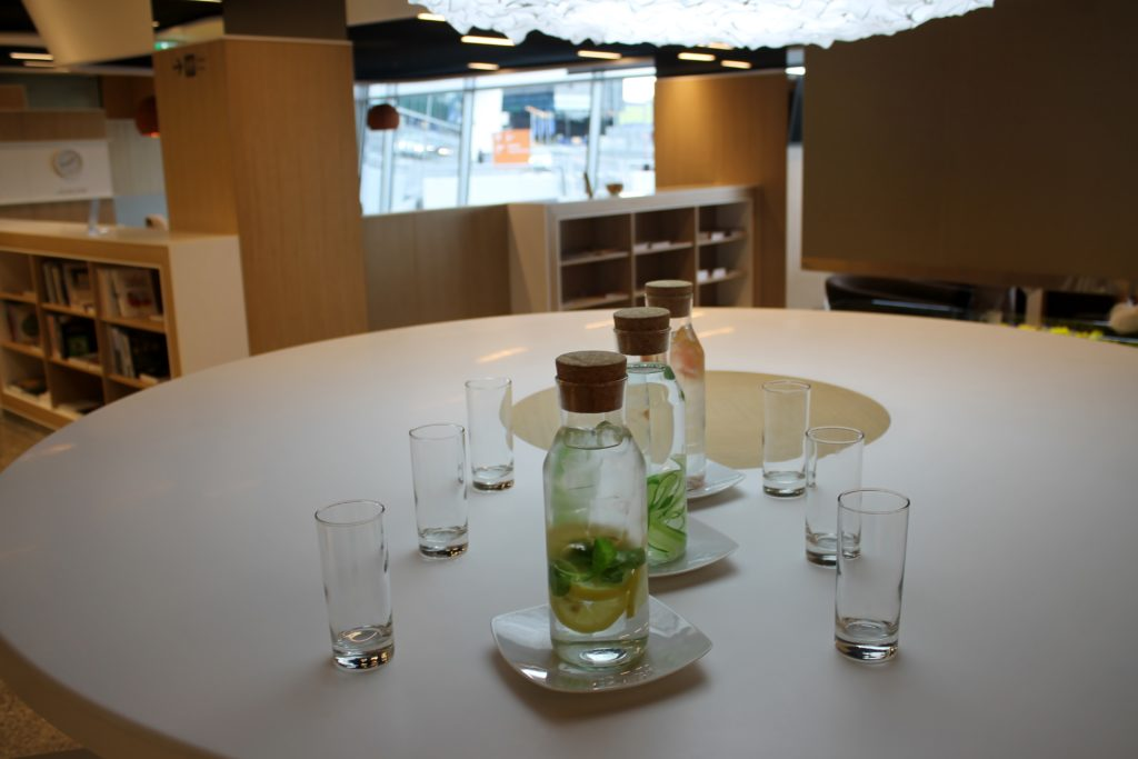 The new third party lounge at Warsaw Chopin