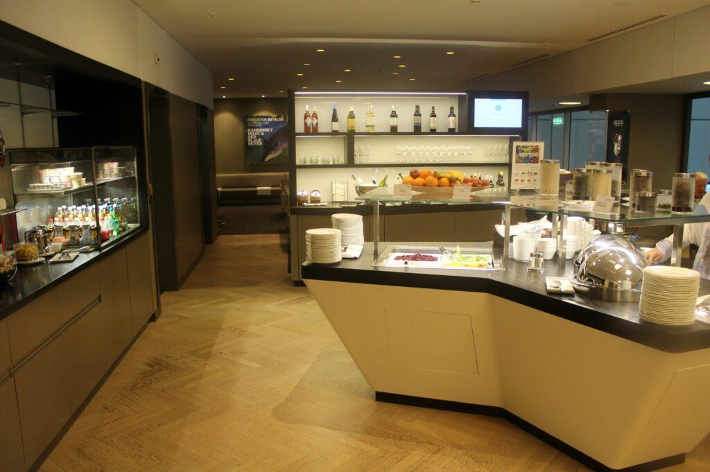 Aspire Lounge OneWorld Zürich Kloten Schengen