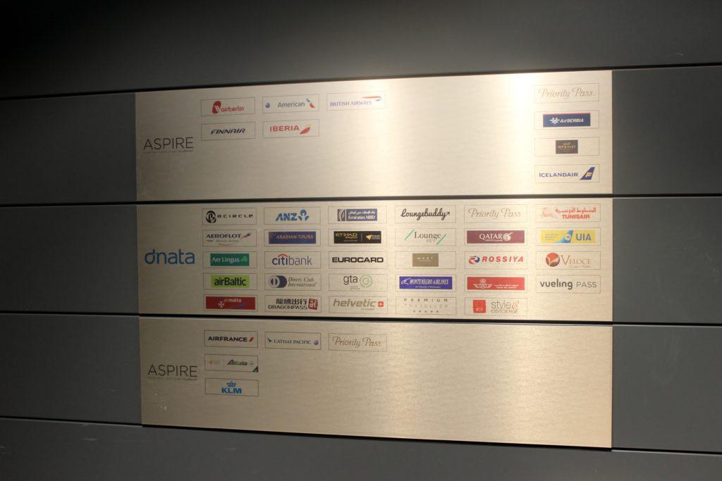 Aspire Lounge (Skyteam), Zürich Kloten, Schengen access