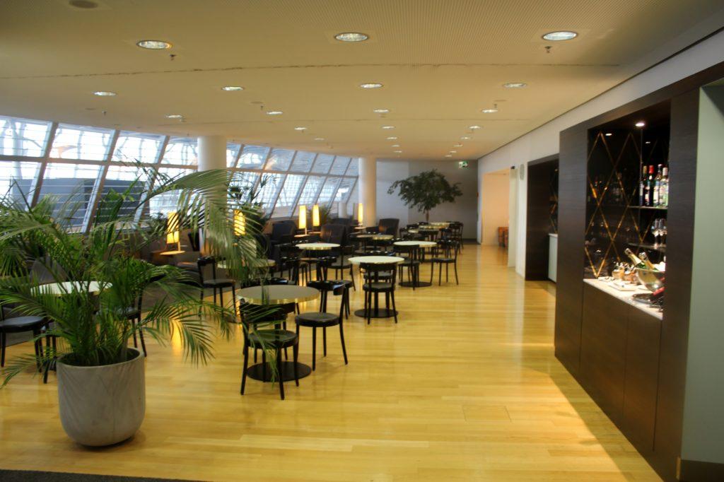 Aspire Lounge (Skyteam), Zürich Kloten, Schengen interior
