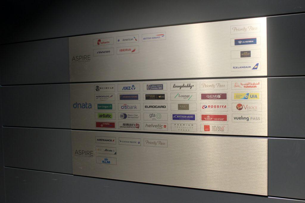 Dnata Skyview Lounge, Zürich Kloten access