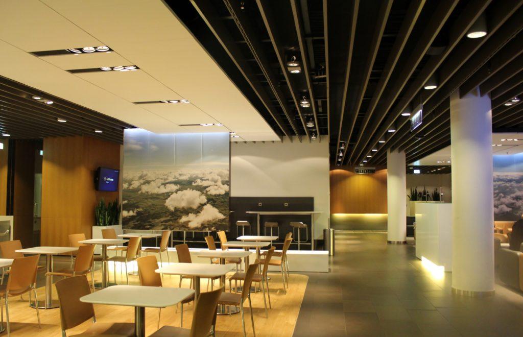 Lufthansa Business Class Frankfurt-Stockholm lounge
