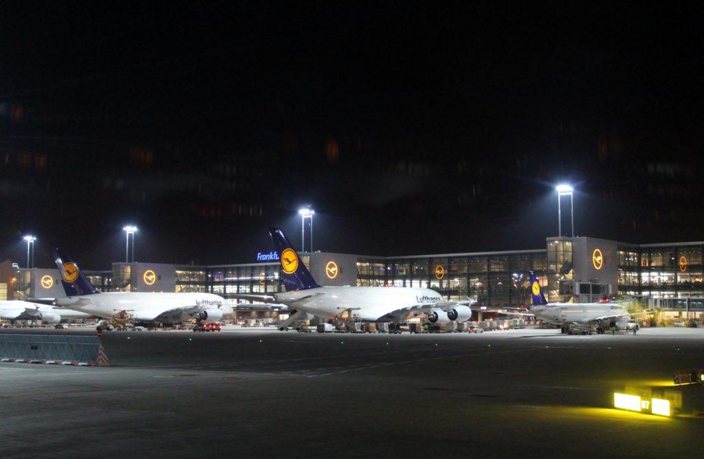 Lufthansa Business Class Frankfurt-Stockholm terminal