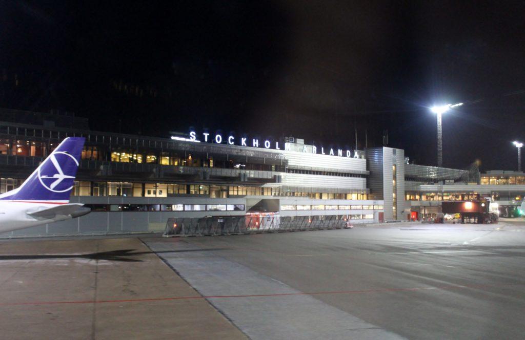 Lufthansa Business Class Frankfurt-Stockholm Arlanda terminal 5