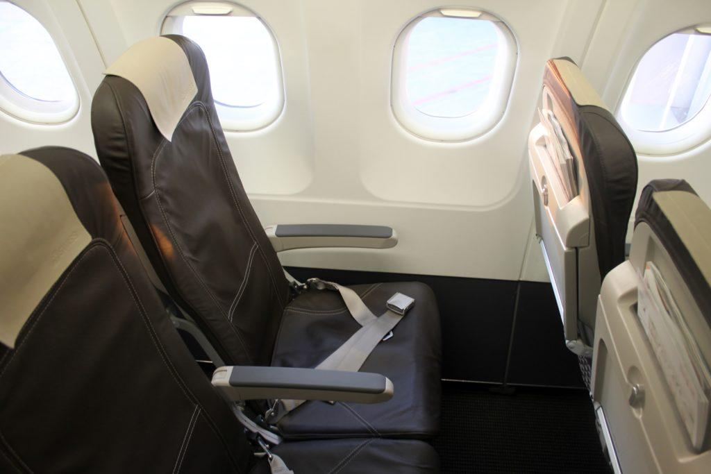 Swiss Business Class Zürich-Barcelona seat