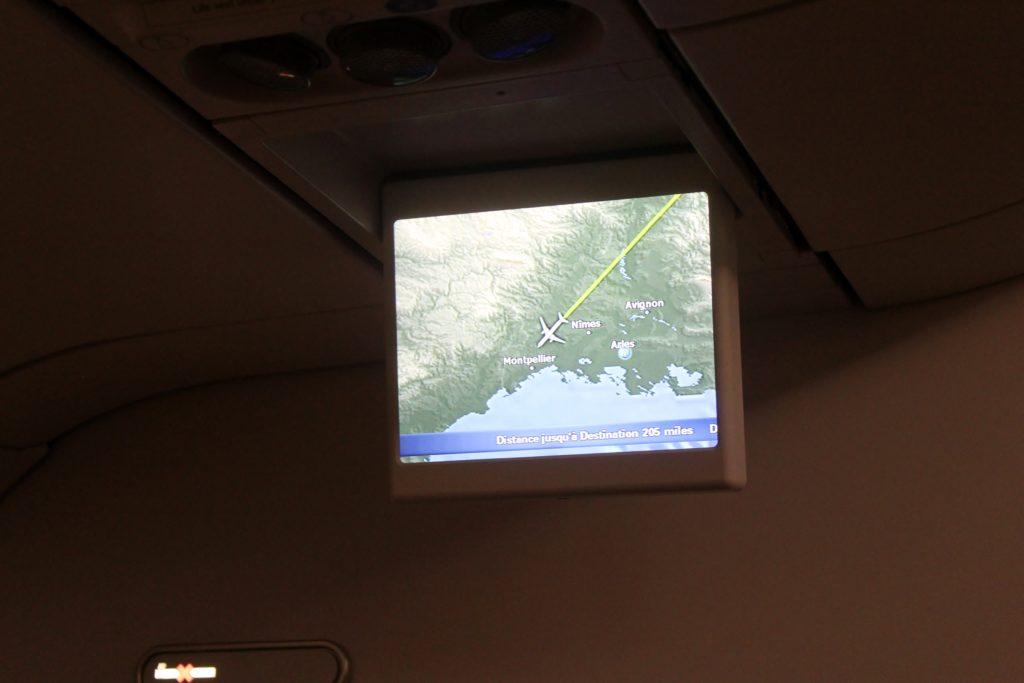 Swiss Business Class Züirch-Barcelona flight map