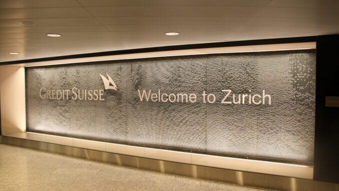 Swiss Business Class Stockholm-Zürich