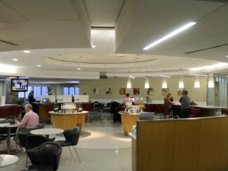 American Airlines Admirals Club, London Heathrow, Terminal 3
