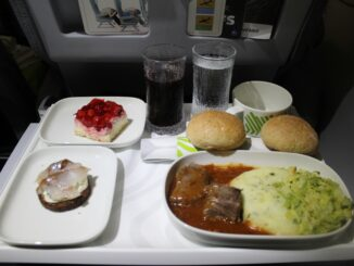 Finnair Business Class London Heathrow-Helsinki