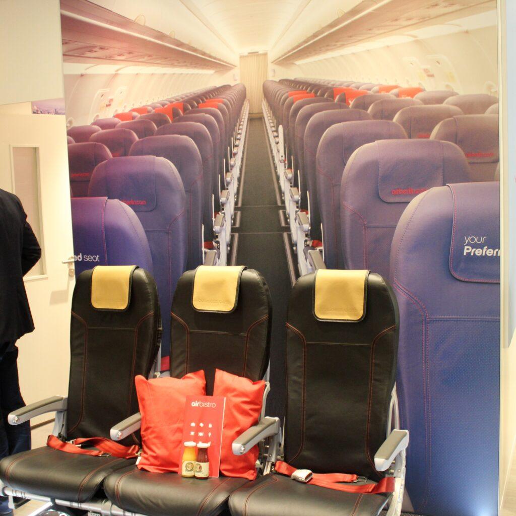 Air Berlin shorthaul business class