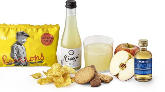 SAS new snacks and beverage concept
