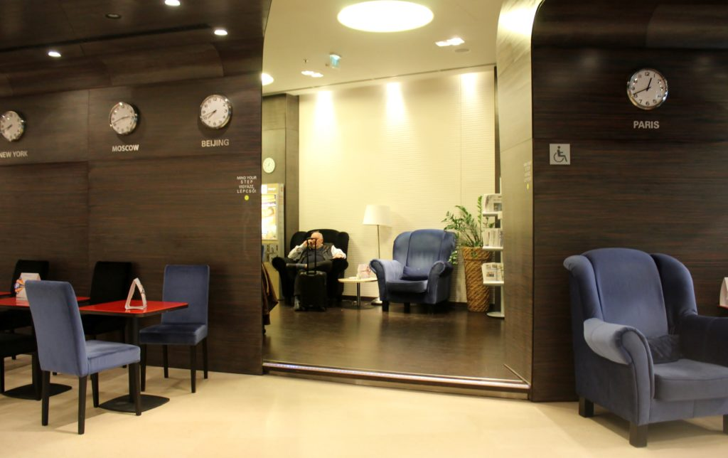 SkyCourt Lounge, Budapest interior