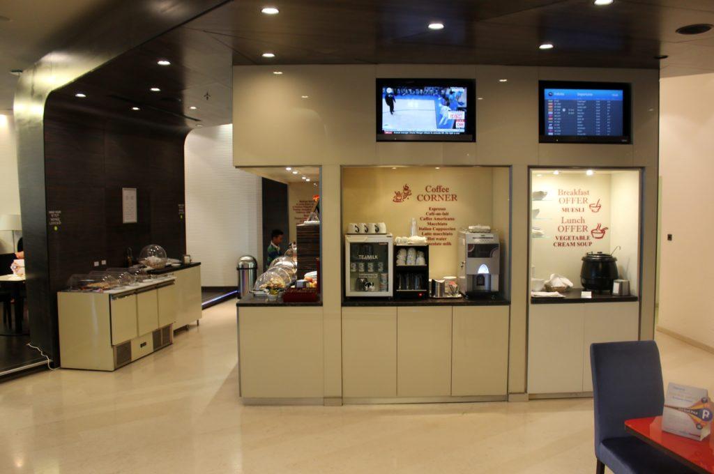 SkyCourt Lounge, Budapest self-service buffet