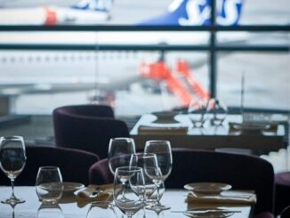 Pontus in the air lounge at Stockholm Arlanda airport