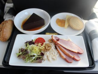British Airways new meal service in Club Europe