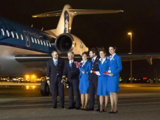 The last KLM Fokker 70 farewell flight