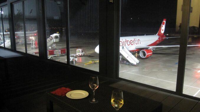 The new Air Berlin Weltbürger Lounge at Berlin Tegel airport