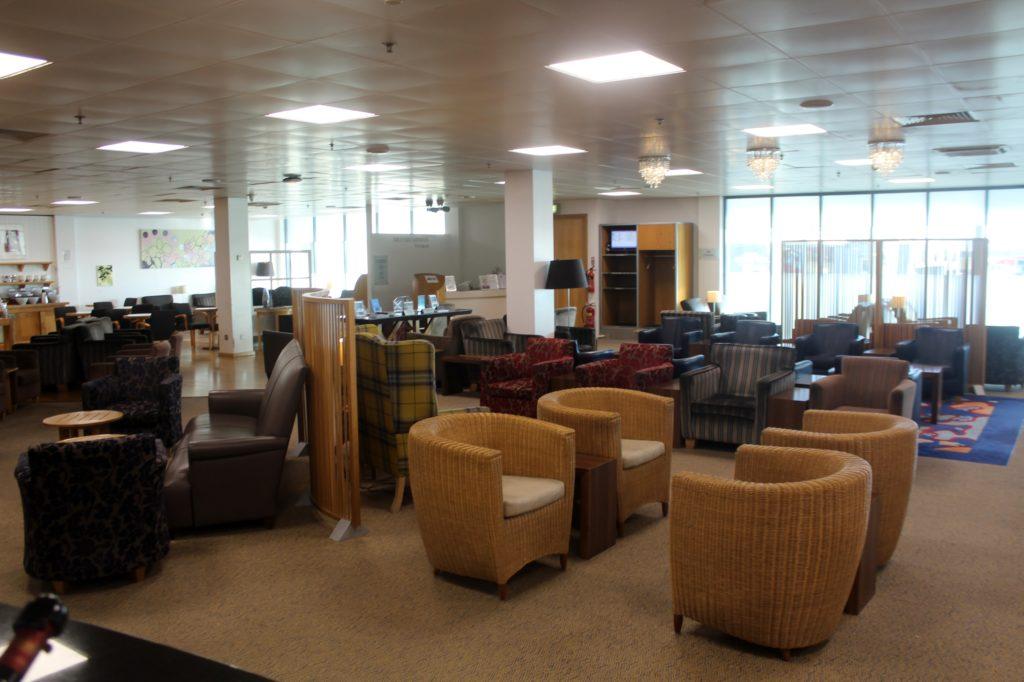 British Airways Lounge Newcastle