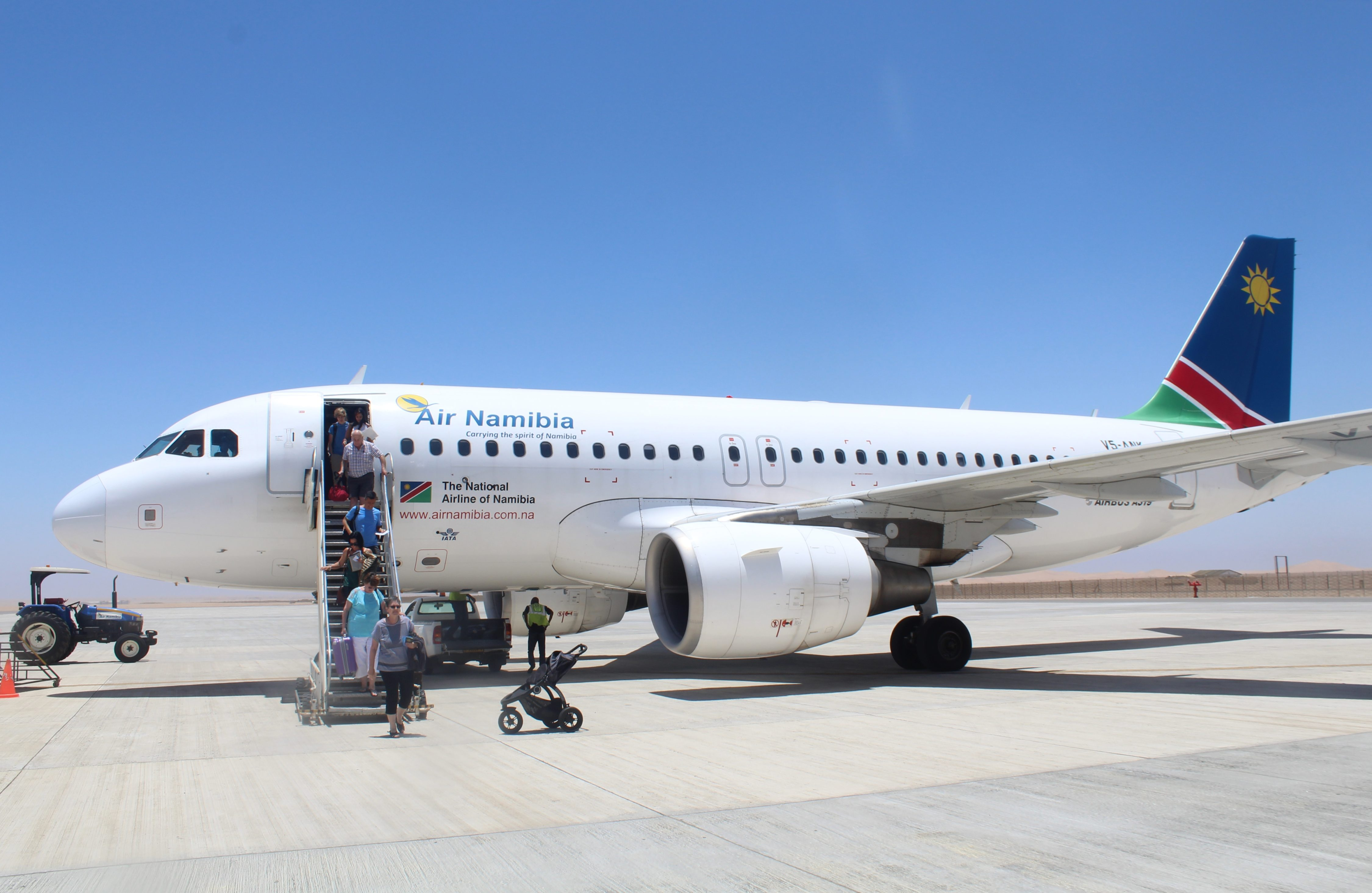 Review: Air Namibia Business Class Cape Town-Walvis Bay ...