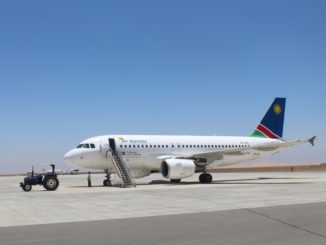 Air Namibia Business Class Walvis Bay-Windhoek