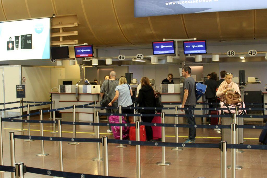 Air Serbia Economy Class Stockholm-Belgrade