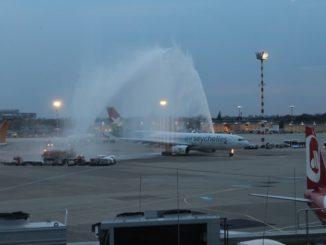Air Seychelles inauguration at Düsseldorf airport