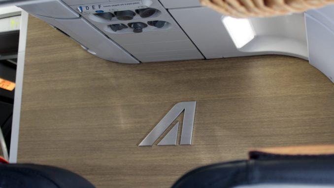Alitalia Economy Class Dusseldorf-Milan Linate