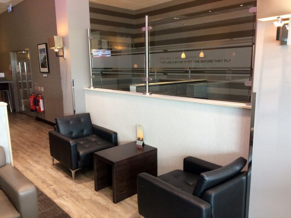 Aspire Lounge, Belfast City Airport