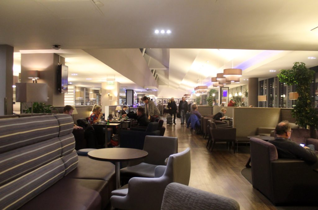 Aspire Lounge, Manchester Airport terminal 1