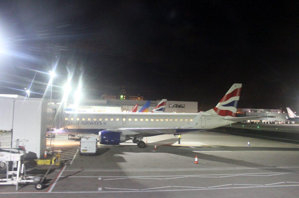 British Airways Business Class London-Glasgow